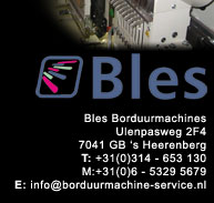 Bles BROTHER borduurmachines